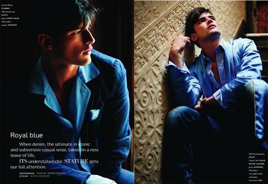 Шон Опри для Vogue Hommes International