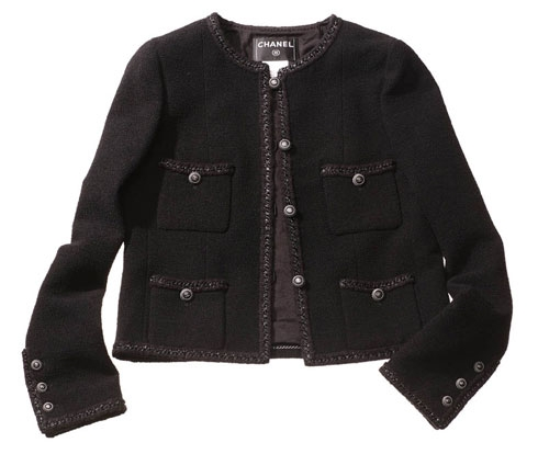 Маленький черный жакет Chanel