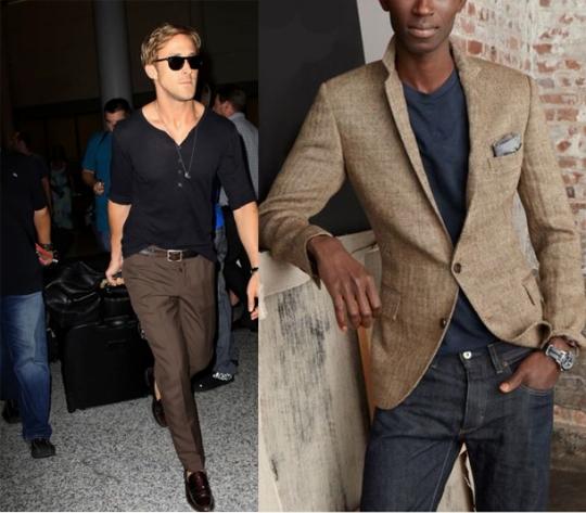 Основы мужского стиля: лонгсливы