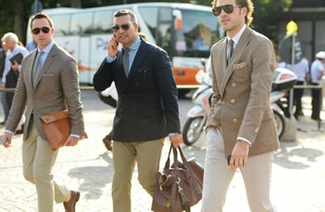 Выставка мужской одежды Pitti Uomo
