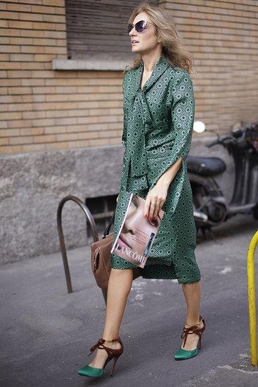 45 лучших аутфитов с недели моды в Милане