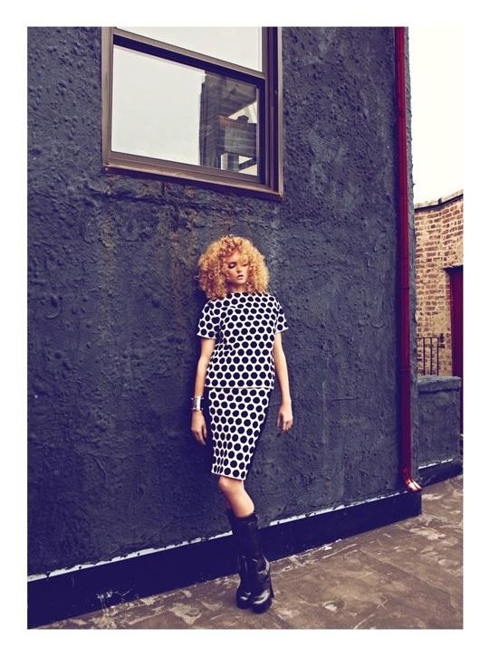 Лили Коул для Harper's Bazaar Turkey