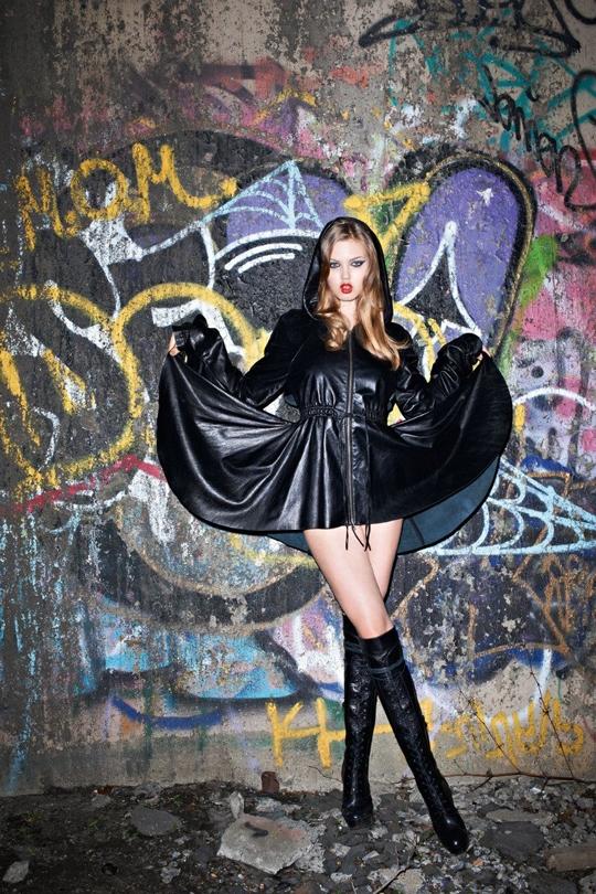 Линдси Виксон для Purple Fashion