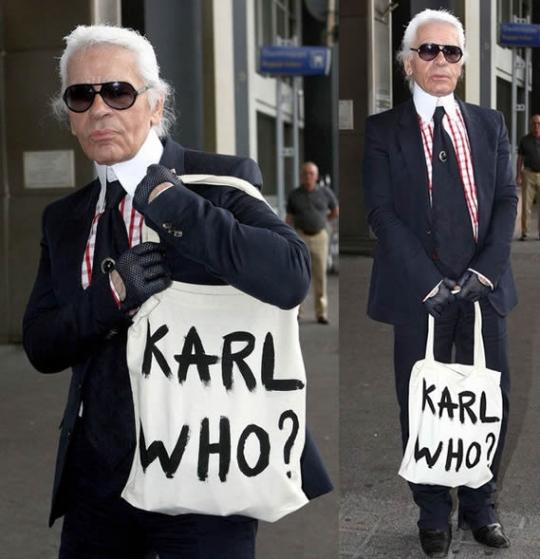 Карл Лагерфельд, Karl Who
