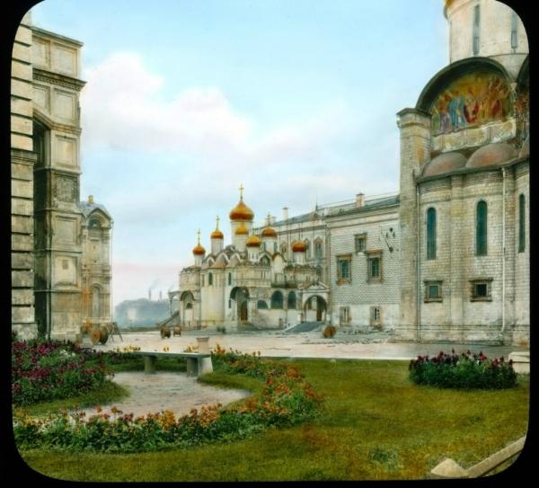 Старая Москва, Грановитая палата. Красное крыльцо