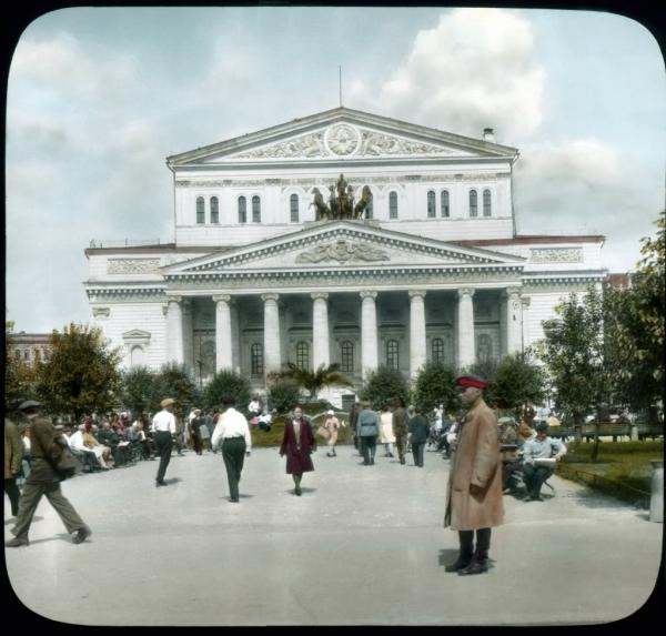 Старая Москва, Театральная площадь
