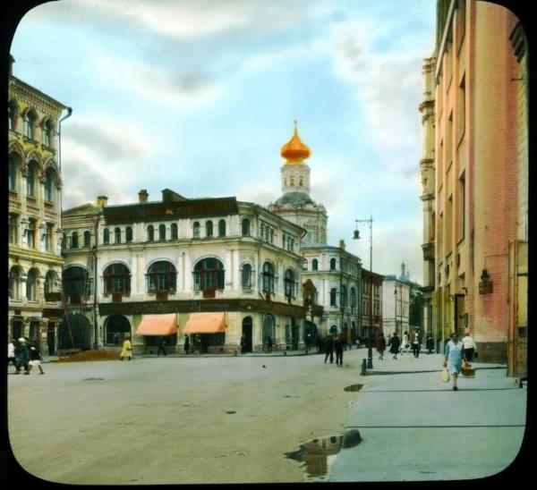 Старая Москва, Биржевая площадь и Блюхеровский переулок