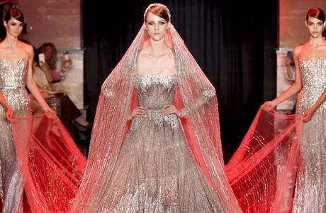 Elie Saab осень 2013 Haute Couture