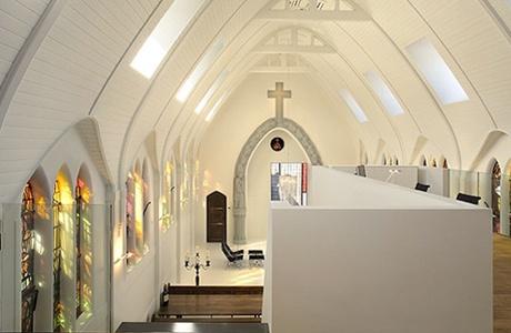 Дом божий: 10 жилых пространств на месте бывших церквей