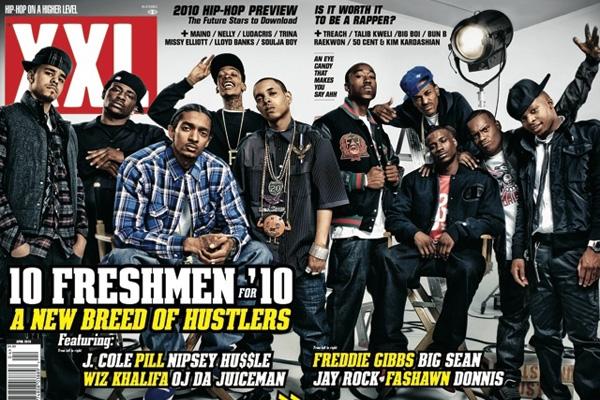 XXL Freshman class 2010