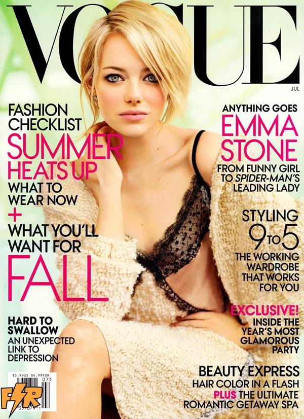 Эмма Стоун Vogue